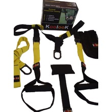SUSPENSION TRAINER 'KOOLOOK' PRO PACK GIALLO-NERO