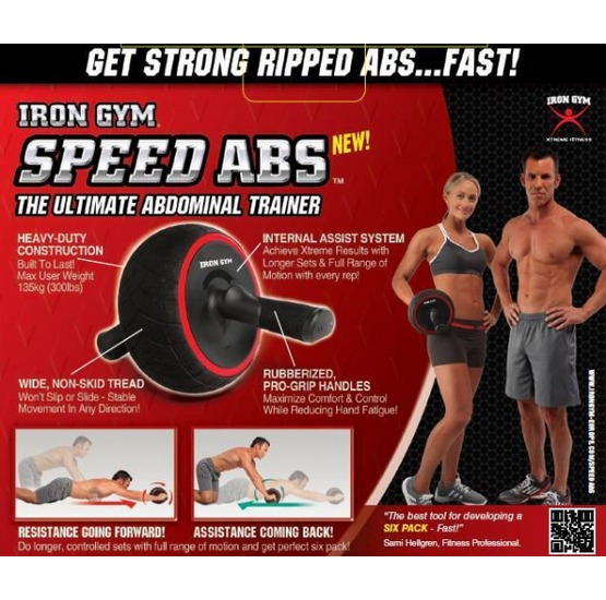 Iron gym speed abs solo l 39 originale iron gym for Solo fitness gym