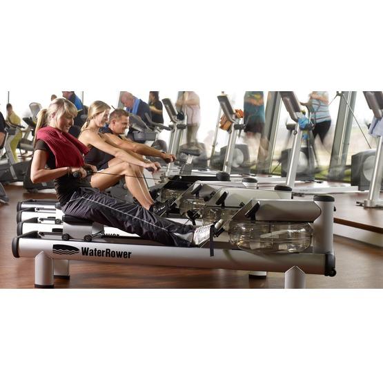 Vogatore water rower serie quot design modello s in acciaio