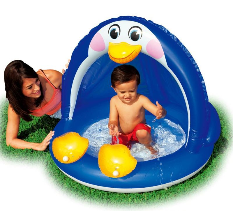 Piscina intex per bambini piccoli penguin baby pool for Piscine x bambini