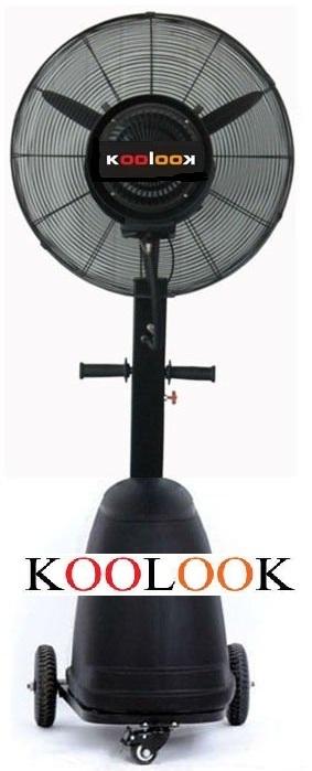 ventilatore nebulizzatore per interni installazione