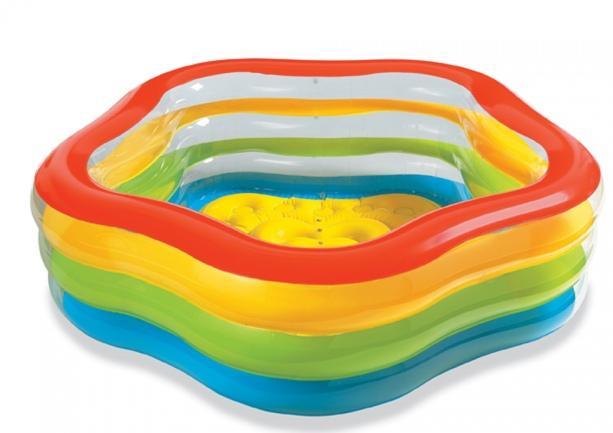 Piscina summer 185 x 180 x 53 cm for Recambios piscinas intex