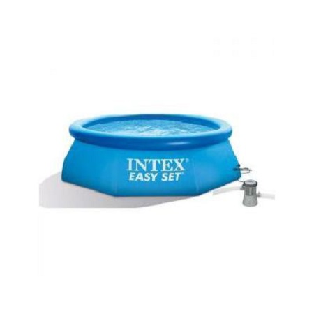 Piscina intex fuoriterra easy 244 x 76 cm con pompa filtro for Piscine intex 244 avec filtre