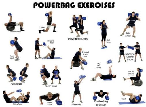 Esercizi Body Power Power Bag Esercizi